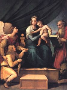 Raphael (Raffaello Sanzio Da Urbino) - Madonna with the Fish