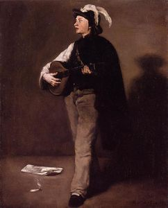 Théodule Augustin Ribot - The Mandolin Player
