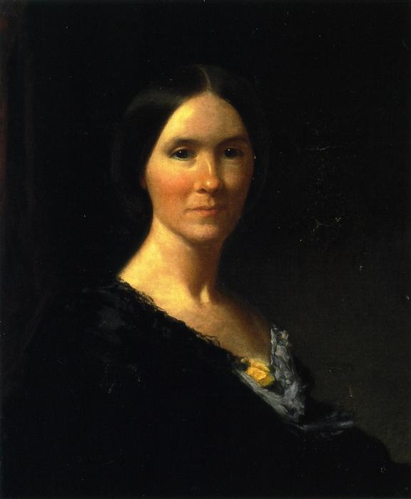 Margaret Creighton Bateman of Shelter Island, New York, Oil On Canvas by William Merritt Chase (1849-1916, United States)