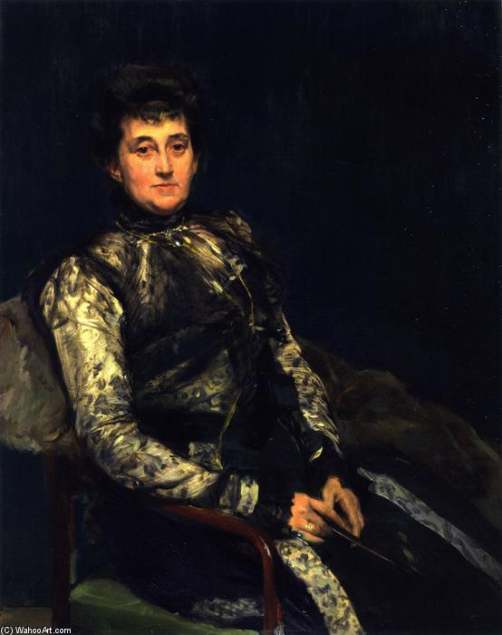 Maria Teresa Moret, Oil On Canvas by Joaquin Sorolla Y Bastida (1863-1923, Spain)