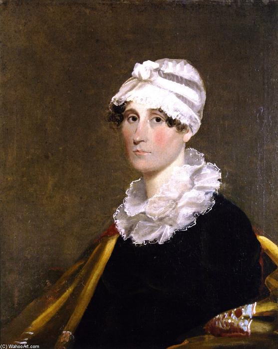 Martha Scott Bibb, 1815 by Matthew Harris Jouett (1788-1827, United States) | Painting Copy | ArtsDot.com