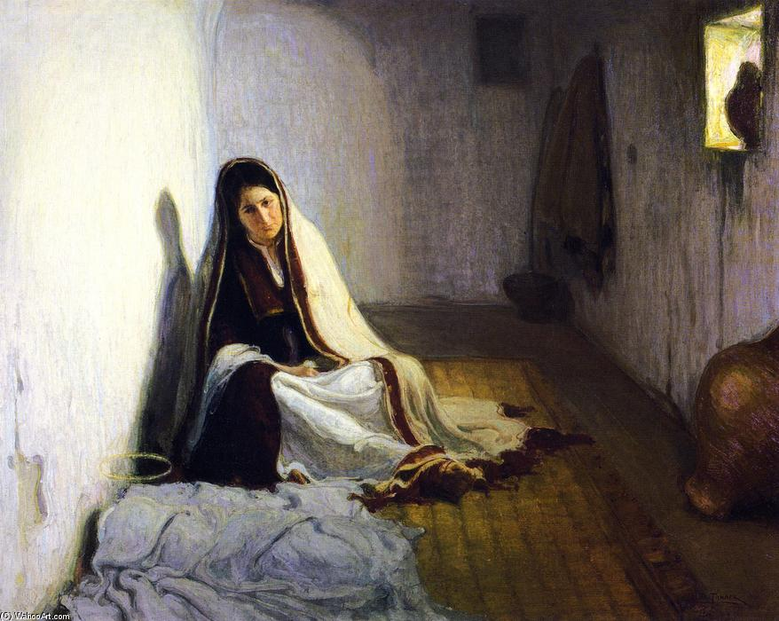 Mary, 1900 by Henry Ossawa Tanner (1859-1937, United States) | Reproductions Henry Ossawa Tanner | ArtsDot.com