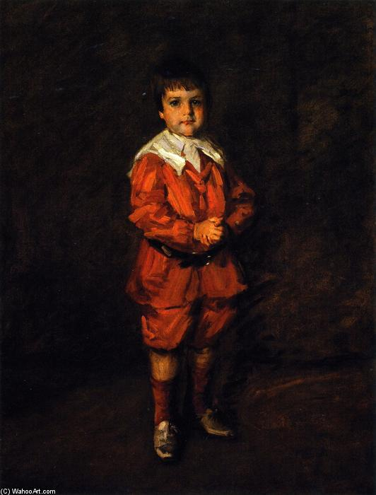 Master Robert, Oil On Canvas by William Merritt Chase (1849-1916, United States)