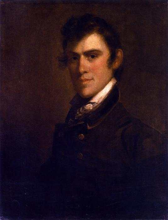 Matthew Harris Jouett, 1824 by Matthew Harris Jouett (1788-1827, United States) | Oil Painting | ArtsDot.com