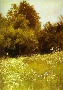 Isaak Ilyich Levitan - Meadow on the Edge of a Forest