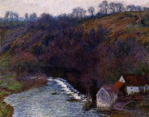 Claude Monet - The Mill at Vervy