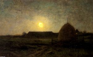 Dwight William Tryon - Moonlight