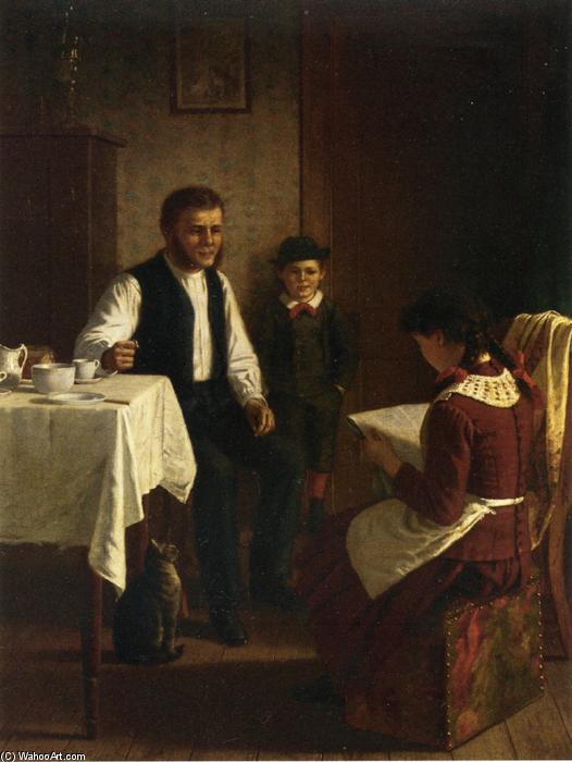 Morning after Election, Oil On Canvas by Samuel S Carr (1837-1908, United Kingdom)