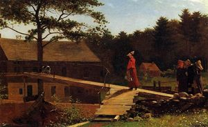 Winslow Homer - The Morning Bell (also known as The Old Mill)