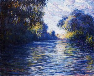 Claude Monet - Morning on the Seine