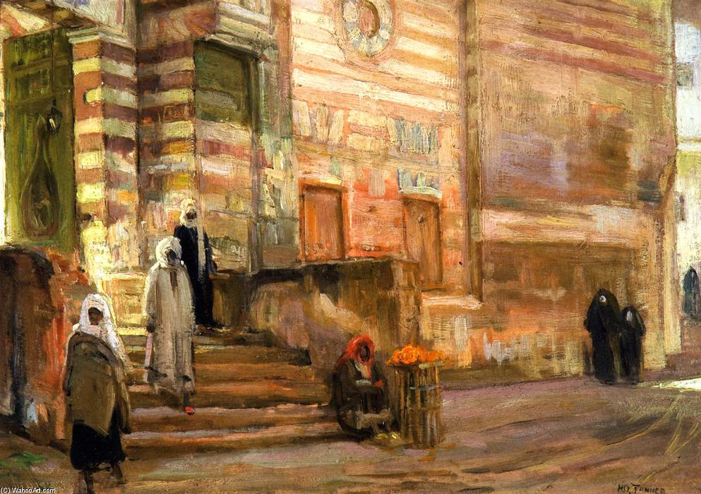 A Mosque in Cairo, 1897 by Henry Ossawa Tanner (1859-1937, United States) | Art Reproduction | ArtsDot.com