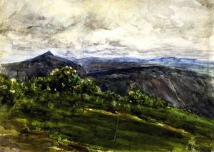 Henry Ossawa Tanner - Mountain Landscape, Highlands, North Carolina