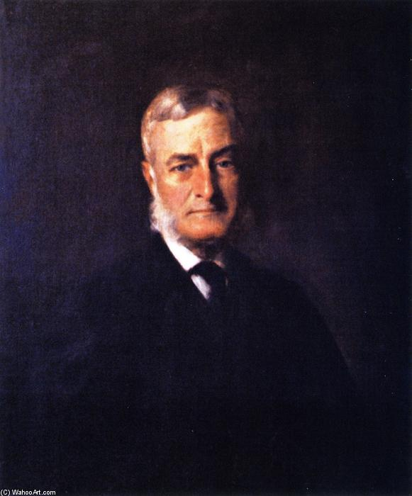 Mr. Parsons, Oil On Canvas by William Merritt Chase (1849-1916, United States)