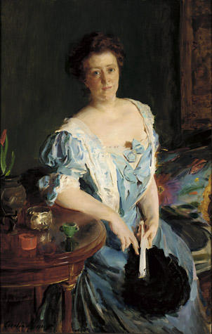 Mrs. John Frederick Lewis, 1906 by Cecilia Beaux (1855-1942, United States) | Painting Copy | ArtsDot.com