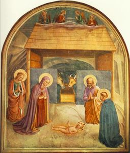Fra Angelico - Nativity (Convento di San Marco, Florence)