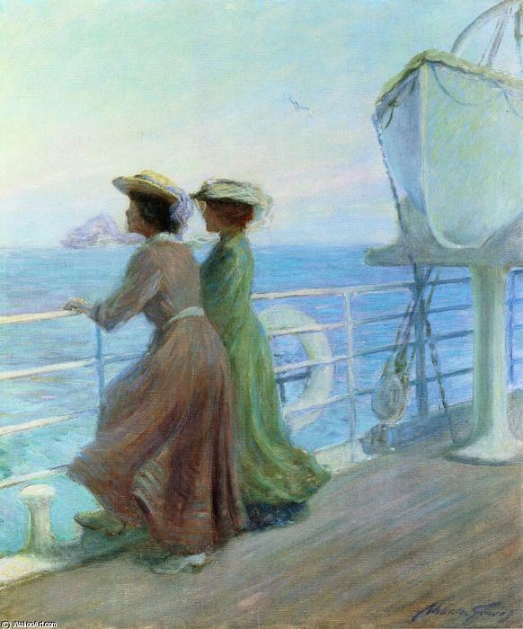 Nearing Home, Oil On Canvas by Abbott Fuller Graves (1859-1936, United States)