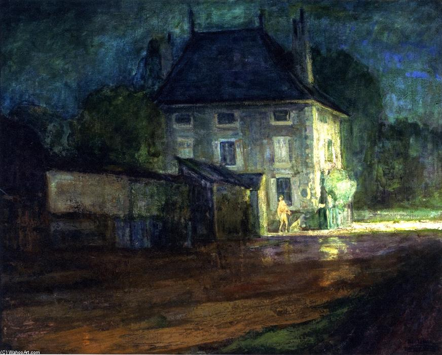 Neufchâteau, Oil On Canvas by Henry Ossawa Tanner (1859-1937, United States)