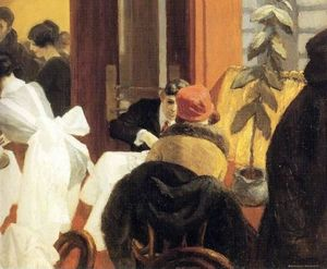 Edward Hopper - New York Restaurant