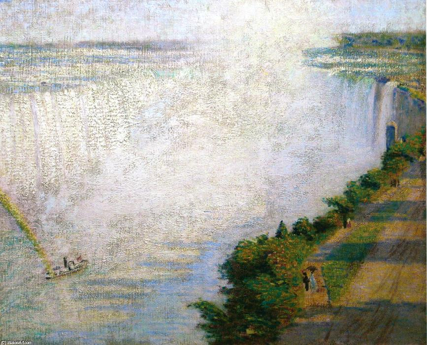 Niagara Falls I, Oil On Canvas by Philip Leslie Hale
