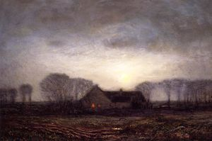 Dwight William Tryon - Night, New England