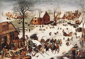 Pieter Bruegel The Elder - The Numbering at Bethlehe..