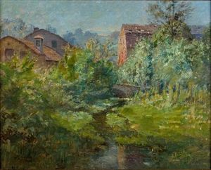 Theodore Clement Steele - The Old Mill