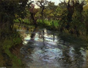 Frits Thaulow - On the Banks