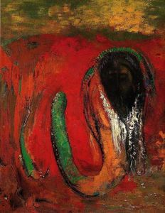 Odilon Redon - Onnes (also known as Christ and the Serpent)