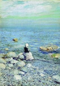 Konstantin Alekseyevich Korovin - On the Shore of the Black Sea