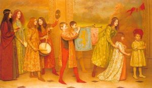 Thomas Cooper Gotch - The Pageant Of Childhood