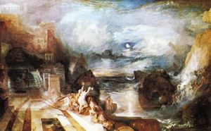 William Turner - The Parting of Hero and L..