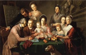 Charles Willson Peale - The Peale Family