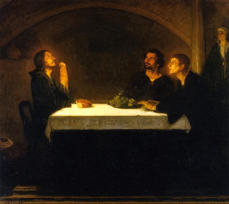 The Pilgrims of Emmaus, 1905 by Henry Ossawa Tanner (1859-1937, United States) | Museum Quality Copies Henry Ossawa Tanner | ArtsDot.com