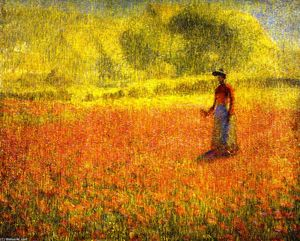 Phillip Leslie Hale - Poppies