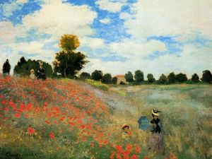 Claude Monet - Poppies at Argenteuil
