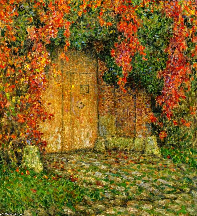 The Portal, Oil On Canvas by Henri Eugène Augustin Le Sidaner (1862-1939, Mauritius)