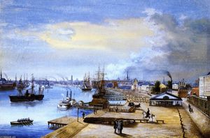 Marie Adrien Persac - Port and City of New Orle..
