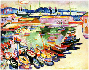 Georges Braque - Port of La Ciotat