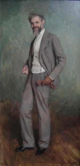 Portrait de M. Paul, Oil On Canvas by Émile Friant (1863-1932, France)