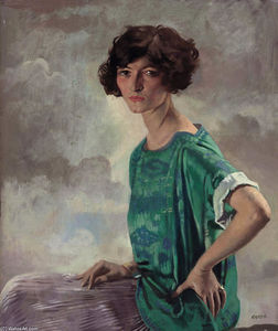 William Newenham Montague Orpen - Portrait of Gertrude Sanford