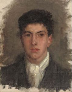 Henry Scott Tuke - Portrait of Johnny Jackett