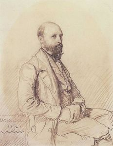 Théodore Chassériau - Portrait of Jules Monnerot