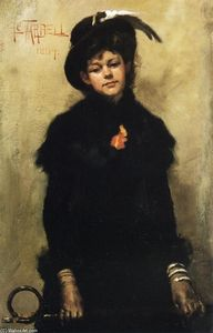 Edmund Charles Tarbell - Portrait of Miss McKay