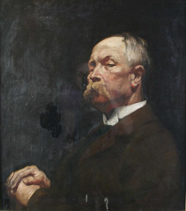 Portrait of Mr. Hayward by William Newenham Montague Orpen (1878-1931, Ireland) | Museum Quality Reproductions | ArtsDot.com