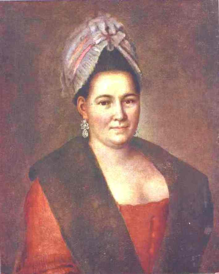 Portrait of an Unknown Woman, Oil On Canvas by Alexey Petrovich Antropov (1716-1795, Russia)
