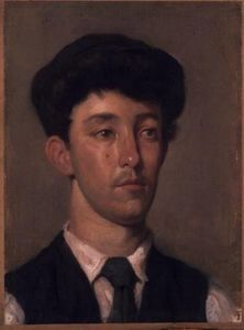 William Newenham Montague Orpen - Portrait of a Youth