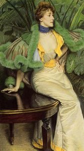 James Jacques Joseph Tissot - The Princess of Broglie
