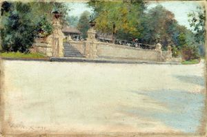 William Merritt Chase - Prospect Park, Brooklyn