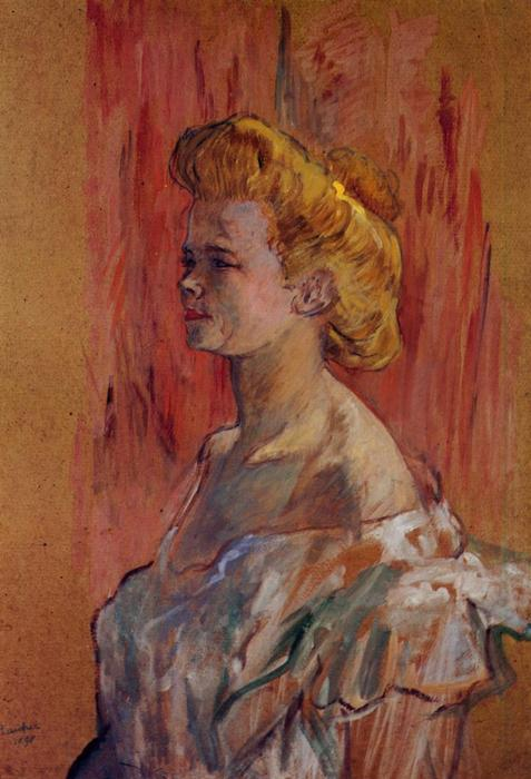 Prostitute: the Sphinx, 1898 by Henri De Toulouse Lautrec (1864-1901, France)
