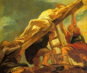Peter Paul Rubens - The Raising of the Cross